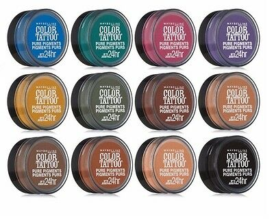 MAYBELLINE NEW YORK Color Tattoo 24hr Pure Pigments Eye Shadow ...