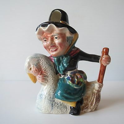Shorter and Son Toby Jug, Mother Goose, Small, Cute Hand-Painted Collectible