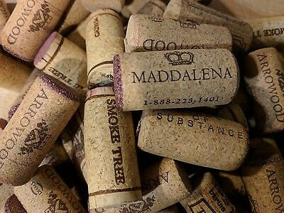 100+ Used Recycled Agglomerated & Synthetic Wine Corks -Crafts- Fast Shipping!