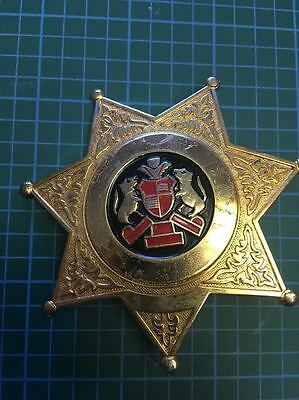 Generic Sheriff's Cap Badge