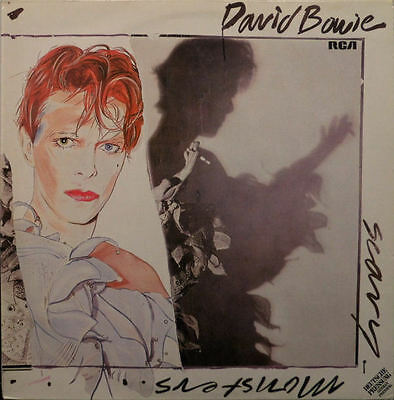 "LP: David Bowie ""Scary Monsters"""