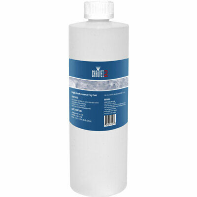 Chauvet DJ Smoke Machine Fluid FJ1 Fog Juice 1L Water Based Solution