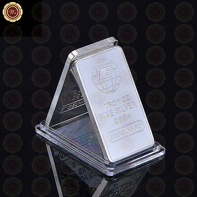 WR 1 Troy Oz Fine Silver Iron Bar Cross Bar Custom Challenge Coin for Collection