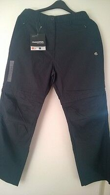 Navy Craghoppers trousers (size 18)