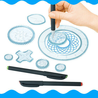 Spirograph Geometric Ruler Students Drafting Drawing Kit Kids Art Toys Set