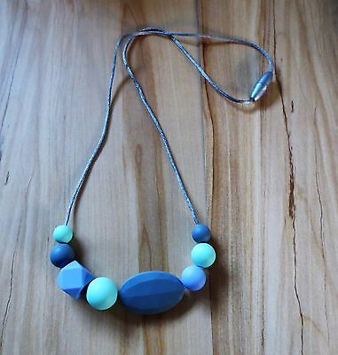 Silicone formerly Teething Necklace Mum Chew Beads BPA Free Breastfeeding