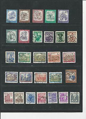 Austria - Collection Of Used Stamps - #ast3