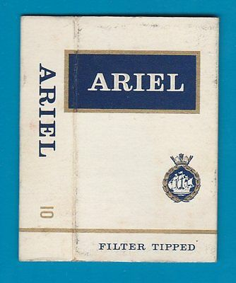 Old EMPTY cigarette packet Ariel Filter scarce  #833