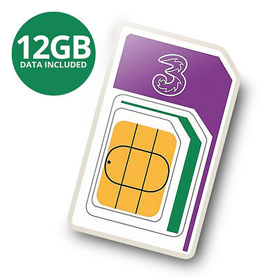 12GB 4G International Data Roaming Internet SIM. UK/USA/EUROPE/ASIA Save £ $ €'s