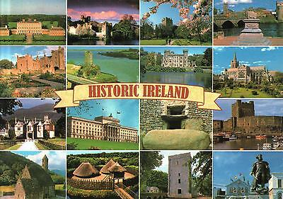 Ireland  -  Historic Ireland - which includes fortresses,castles and mansions