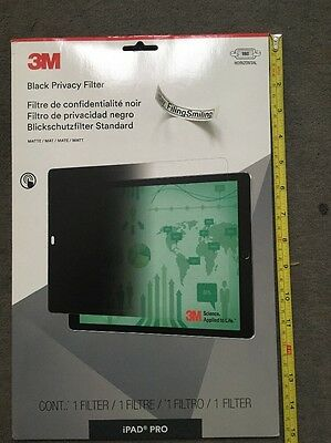 "3M Privacy Screen Protector Filter for Apple iPad Pro 12.9"" - Landscape"