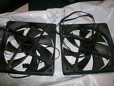 2x Antec 160mm PC Case Fans-USED