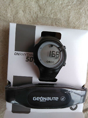 MULTISPORT Heart Rate Monitor WATCH Geonaute for Running Swimming Cycling