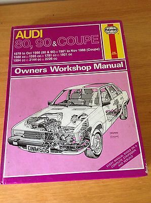 Haynes Audi Manual ( 80 90 And Coupe )