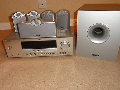 Yamaha AV receiver + Tannoy 5.1 speakers