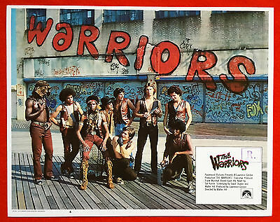 THE WARRIORS - Complete Set of 8 ORIGINAL Mint Condition Lobby Cards - RARE!