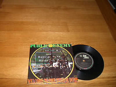 Public Enemy-Welcome to the terror dome.7""