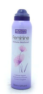 BEAUTY FORMULAS Feminine Intimate Deodorant 150ml X 2
