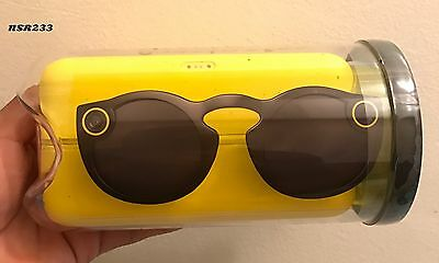 Spectacles Snapchat Color Black Unopened Brand New Ready To Ship