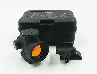 MRO style red dot sight holographic sights for airsoft black low mount+QD mount