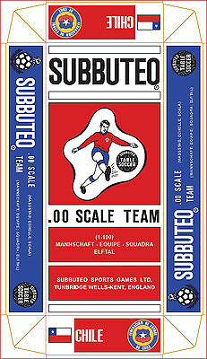 Chile Subbuteo Special Hw Coloured Long Box