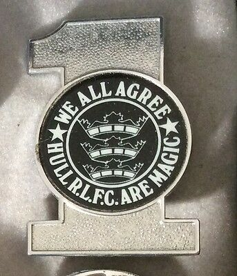 Very rare Hull FC RLFC Rugby League Football Club Badge 1970's/1980's 2# Magic