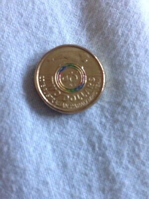 Paralympic 2016 2 Dollar Coloured Coin
