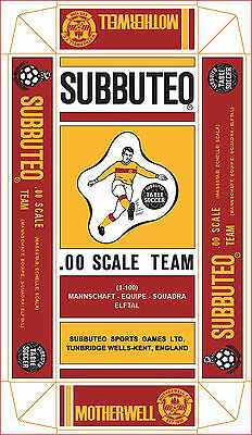 Motherwell  Subbuteo Special Hw Coloured Long Box