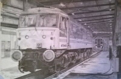 Train Railway Locomotive limited edition prints counter-signed by artist