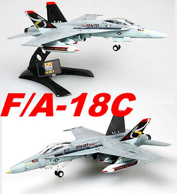 Easy Model 1/72 F/A-18C US NAVY VFA-137 NE-402 Plastic Fighter Model #37115