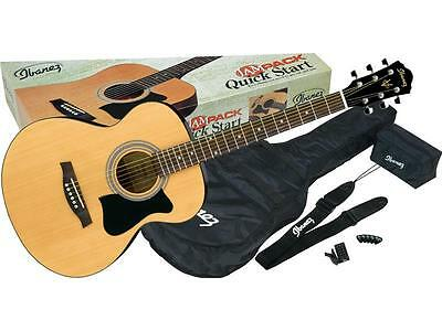 Ibanez Vc50Njp-Nt Jam Pack Natural Kit Chitarra Acustica Tipo Apx Con Accessori
