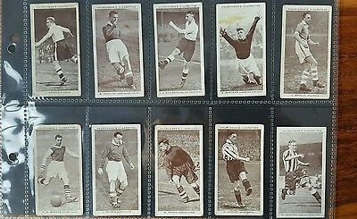 ASSOCIATION FOOTBALLERS 2nd SERIES OF 50 CIGARETTE CARDS 1939 CHURCHMANS