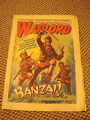 Warlord Comic number 72, February 7th 1976