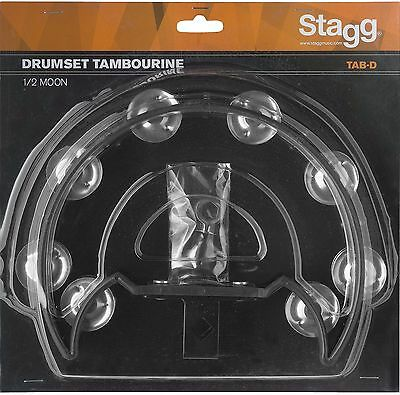 Stagg Cutaway Mountable Drumset Tambourine