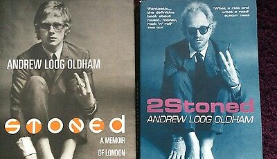 'Stoned' (US FIRST EDITION) & 2Stoned' Andrew Loog Oldham Memoirs