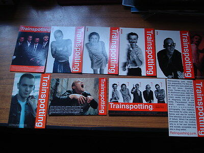 Set Of 10 Trainspotting Post Cards, Brand New As Shown In The Photo's