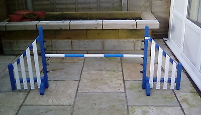 Dog agility equipment wing jumps with 5 cup heights