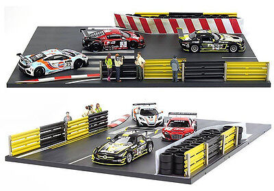 1/43 Tiny R1 Racing Track Diorama set - NEW IN BOX