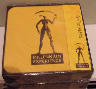 Set of 6 Coasters from the Millennium Exhibition 2000