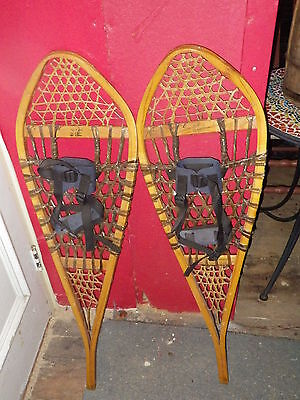 Vintage Snowshoes Made In Canada