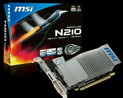 GeForce GT 210 589 MHz 1 GB PCI- Express Graphics Card