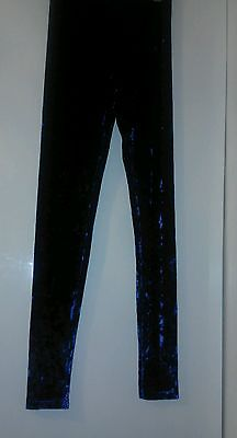 H&M girls velvet leggings 14 yrs
