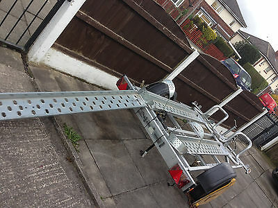 Motorbike/motorcycle Trailer For Hire/rent Manchester