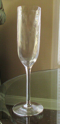 Tiffany & Co Fluted Champagne Glass Goblet Classic Optic Pattern