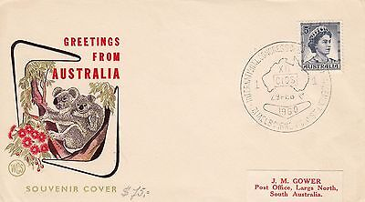 N 1846 WCS February 1960 CIOS Melbourne Souvenir cover; red Gower label