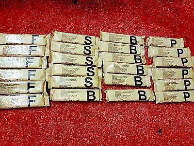 24 Fruit Bars Fishing ,Camping ,Hiking or just easy snack, Army Ration Packs