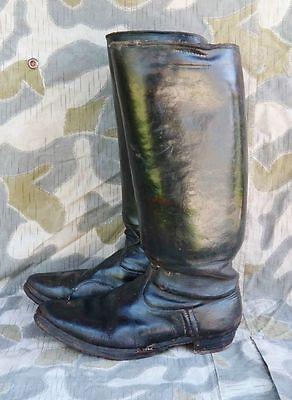 WW2 German Wehrmacht Officers marching boots sz 9 10 historical artisan repair