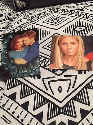 Buffy trading cards X2 Brand New