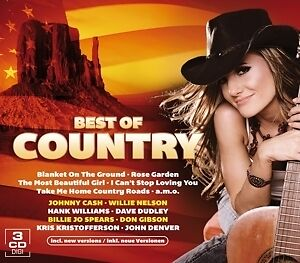 Best Of Country - VARIOUS [3x CD]