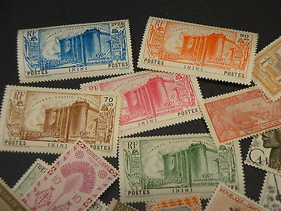 French Colonies_Brilliant Large Classic Collection With Better_High Cv...